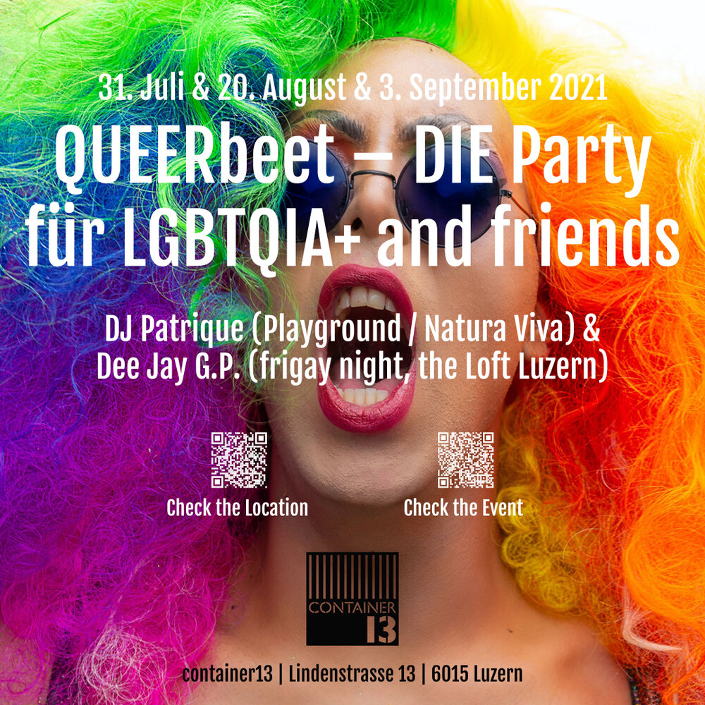 QUEERbeet – DIE Party für LGBTQIA+ and friends