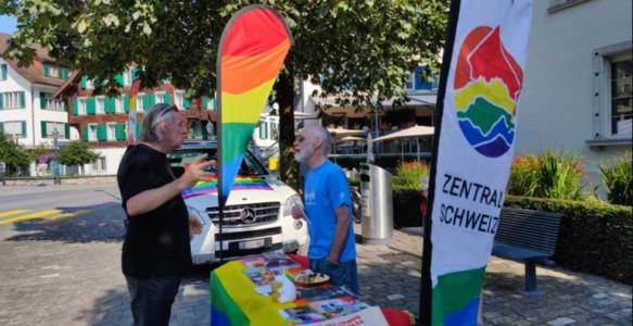 Warum in Kriens eine Regenbogenparty steigt